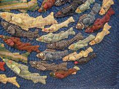 Japanese quilt ... Int'l Quilt Festival.                                                                                                                                                                                 More