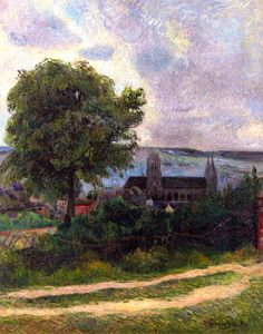 Rouen, Eglise Saint-Ouen / Paul Gauguin - 1884
