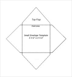 Sample Small Envelope Template | 501 Best Envelopes And Templates Images On Pinterest In 2018 Paper