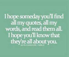 Sometimes I Write You Into my Novel