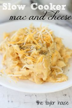 Comfort Food: Slow Cooker Mac and Cheese