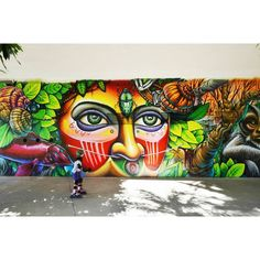 """124 curtidas, 2 comentários - Paulo Henrique (@paulo_espirito) no Instagram: """"Ibirapuera Park - São Paulo - Brasil Artwork by: @shalakattack + @brunosmoky @clandestinosart…"""""""