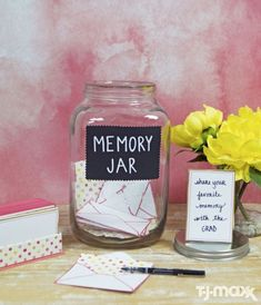 graduation diy Everyone will have something to say to the Grad. All you need is an oversized mason jar, stationary cards, pens Done. A memorable graduation DIY. Graduation Decorations, Graduation Party Decor, Diy Sweet 16 Decorations, 21st Decorations, Graduation Cards, Decorations For Quinceanera, Sweet Sixteen Centerpieces, Graduation Party Ideas High School, Graduation 2016