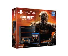 Call of Duty Black Ops III PS4 bundle including a 1TB hard drive and NUK3TOWN map.