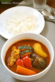 サラッとおいしい♪スープカレー by ミシャトモ [クックパッド] 簡単 ... Home Recipes, Asian Recipes, Ethnic Recipes, Japanese Dishes, Japanese Food, Paleo Keto Recipes, Food Photo, Main Dishes, Curry