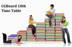 CGBSE 10th Time Table 2017, CG Board 10th Exam Date Sheet 2017