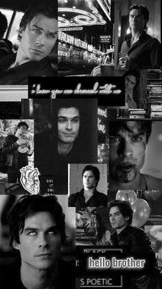 Vampire Diaries Guys, Damon Salvatore Vampire Diaries, Vampire Diaries Poster, Ian Somerhalder Vampire Diaries, Vampire Diaries Wallpaper, Vampire Diaries Seasons, Vampire Diaries The Originals, Damon Salvatore Quotes, Stefan Salvatore