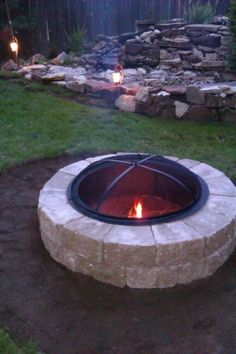 Covered Fire Pit