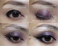 Soft, mauve-pink winged eye! #makeup #cosmetics #beauty #eyeshadow