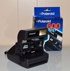 Polaroid One Step 600 Camera Original Box Vintage by WVpickin