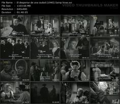 Captura: El despertar de una ciudad (1940)
