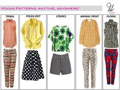 The Art of Pattern Mixing