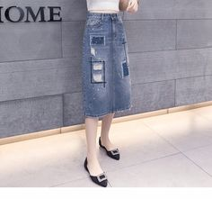 2017 latest fashion top design woman sexy dress high wasit embroidery ripped edging half A-line denim dress for girls stock, View wrap denim dresses for women, C-Jeans Product Details from Guangzhou Canton Jeans Fashion Co., Ltd. on Alibaba.com  email: hongwang@jeansfactory.cn