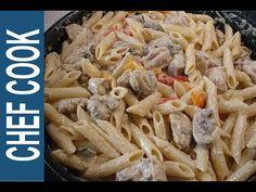 ΦΙΛΕΤΟ ΚΟΤΟΠΟΥΛΟ ΑΛΑ ΚΡΕΜ ΜΕ ΠΙΠΕΡΙΕΣ ΚΑΙ ΜΑΝΙΤΑΡΙΑ - YouTube Cookbook Recipes, Cooking Recipes, Chicken, Meat, Food, Youtube, Eten, Meals