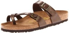 Do you need sandals for plantar fasciitis? TryBirkenstock Mayari sandals with cork footbed.