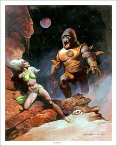 FANTASY ART COMMISSION 16x20 PAINTING by Mike Hoffman!