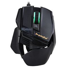 PDXSun High Performance Wired Gaming Mouse 2400 DPI Optical Computer Mouse- Black - Click image twice for more info - See a larger selection of gaming mouse at http://azgiftideas.com/product-category/gaming-mouse/- games,gift ideas for gamer, pc games, grown up toys accessories, holidays, christmas, gift ideas, pc accessories