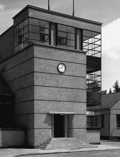 Eduard Werner, Fagus Fabrik, 1911-13 with façades by Walter Gropius and Adolf Meyer
