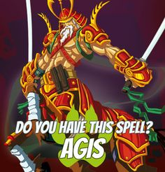 "SPELLS GALLERY: AGIS ""They would be the best cavalry in the world if they cared to leave their fields."" Volo, recruiter #game #rpg #fantasy #dragons #mages #magic #spells #warlock Play now! App Store / iOS: https://itunes.apple.com/app/war-of-warlocks/id799551713?mt=8 Google Play / Android: https://play.google.com/store/apps/details?id=air.com.greengeniegames.warlocks"