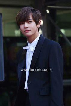 BTS   V. Wow, interesting picture. He looks like a character from a movie! -Lily