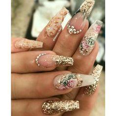 8 Beautiful Nail Art Designs for Short Nails – Tech the bite Fabulous Nails, Gorgeous Nails, Dead Gorgeous, Fancy Nails, Trendy Nails, Glam Nails, Luxury Nails, Nagel Gel, Hot Nails
