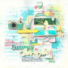 Summer Sun-n-Fun *My Scraps & More* - Scrapbook.com