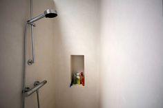 Stoopen&Meeûs Stuc Deco shower Belgian Tadelakt. Flemish Beton-ciré.