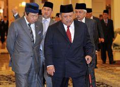 Raja of Perlis, Tuanku Syed Sirajuddin Tuanku Syed Putra Jamalullail and Sultan of Selangor, Sultan Sharafuddin Idris Shah attend the 237th Conference of Rulers in Istana Negara in Kuala Lumpur March 11, 2015. — Bernama pic