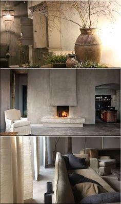 rustic home decor, rusztikus lakás ötletek