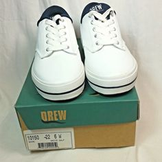 43e1af1c7807e Drew Sneakers Size 6 W Wide White Lace Up Comfort Shoes Kick White Calf