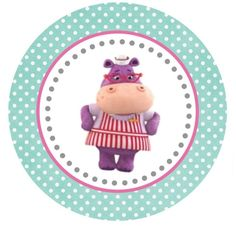 Hallie Large Tag or Cupcake Topper (free Printable)