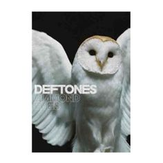 Deftones Diamond Eyes Textile Poster - Commemorate the Deftones sixth album, Diamond Eyes, with this poster featuring a white owl. 30 x 40.