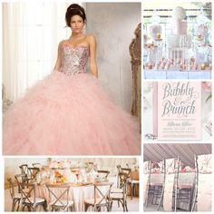 Pink Theme ideas   Quinceanera ideas  
