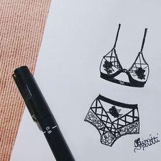 ▪▫ #draw #drawing #fashion #love #inlove #fashionillustration #minimalist…
