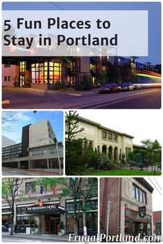 Skip the ordinary. Stay somewhere fun when you come visit Portland!