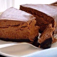 Шоколадный чизкейк для т…