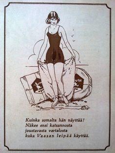 Kuinka somalta hän näyttää ... Vaasan leipää käyttää. Map Pictures, Retro Vintage, Retro Ads, Old Ads, Historian, Ancient History, Finland, Fun Facts, Nostalgia