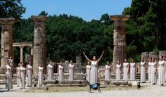 Olympia, Greece - for the lighting of the Olympic torch London 2012 | photo Reuters/John Kolesidis
