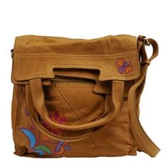Lucky Brand Abby Road Crewel Crossbody Bag | http://www.stoneberry.com