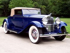 1933 Packard Eight Convertible Coupe