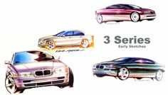 BMW E46 Early Design Sketches