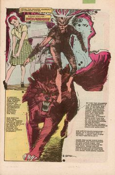 Wolfsbane. Bill Sienkiewicz New Mutants splash page