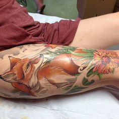 I love this style and would want this within the vintage girl as if it was her pet fox.