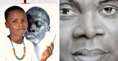 11-Year-Old Nigerian Artist Is Gaining International Attention for His Incredible Drawings