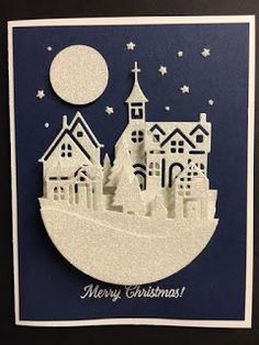 I found a card on Pinterest that piques my interest. I liked the look of the card but didn't have the materials. You can see the card I...