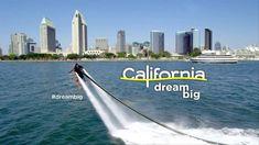 "Coronado Bridge Sighting in ""Visit California"" Commercial . California Tourist Attractions, California Travel Guide, Legoland California, California Restaurants, California Destinations, California Vacation, Disneyland California, Visit California, San Francisco California"