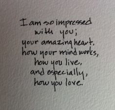 To a amazing guy out there who has no idea how he inspires me