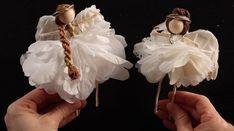 How To Make An Angel Fairy Doll #fairygardening