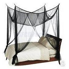 black canopy bed twin - Google Search
