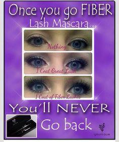 Younique 3D Fiber lash mascara.... Enough said